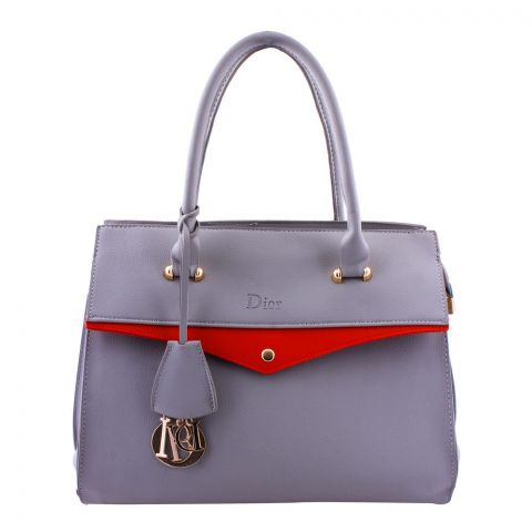 Dior Style Women Handbag Grey - 8115