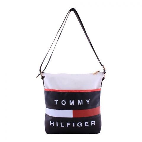 Tommy Hilfiger Style Crossbody Bag Black White - 511