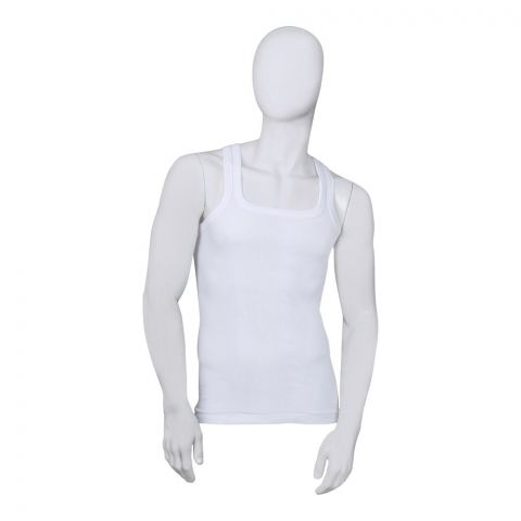 Mercury Men's Vest, Sando, White