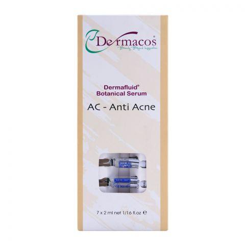 Dermacos Dermafluid Botanical Serum AC - Anti Acne, 7 x 2ml