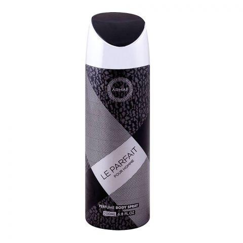 Armaf Le Parfait Pour Homme Men Deodorant Body Spray, 200ml