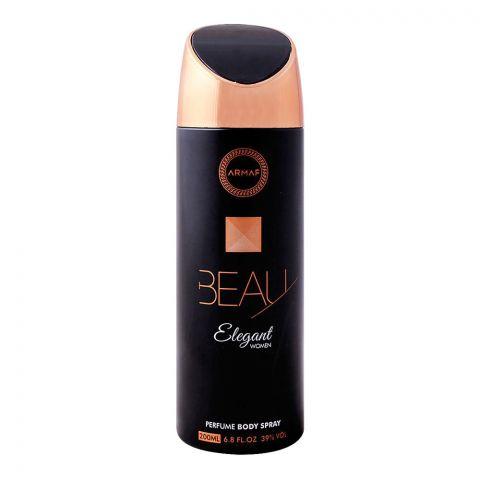 Armaf Beau Elegant Women Deodorant Body Spray, 200ml