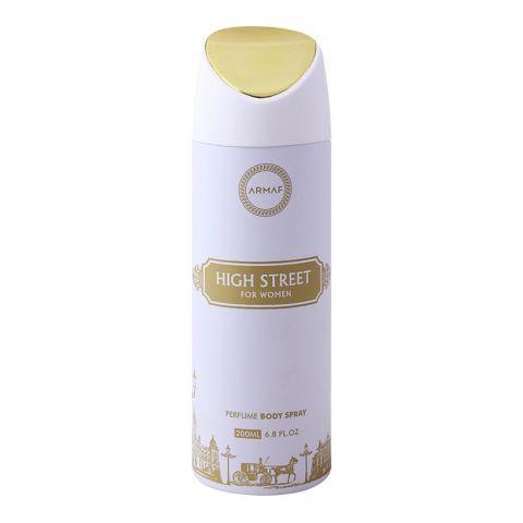 Armaf High Street For Women Deodorant Body Spray, 200ml