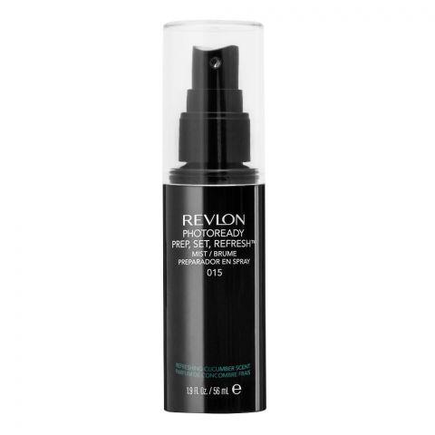 Revlon Photoready Prep, Set, Refresh Primer Spray, 015, 56ml