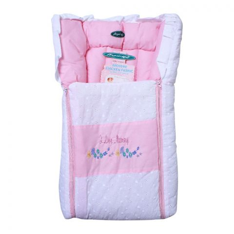 Angel's Kiss Baby Carry Bag, Chicken, Pink