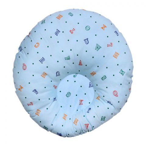 Angel's Kiss Round Baby Pillow, Green