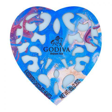Godiva 6 Assorted Chocolates Heart 65g