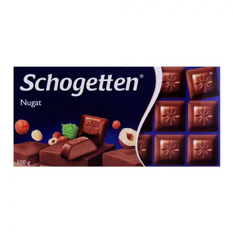 Schogetten Nugat Chocolate Car 100g