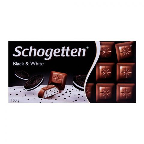 Schogetten Black & White Chocolate Car 100g