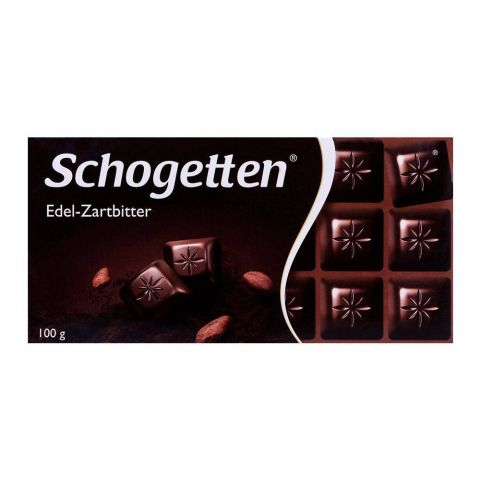 Schogetten Edel-Zartbitter Dark Chocolate Bar 100g