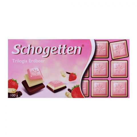 Schogetten Trilogia Strawberry Chocolate 100g