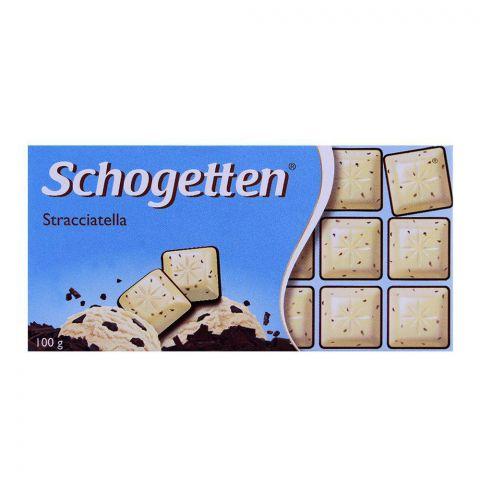 Schogetten Stracciatella Chocolate Bar 100g