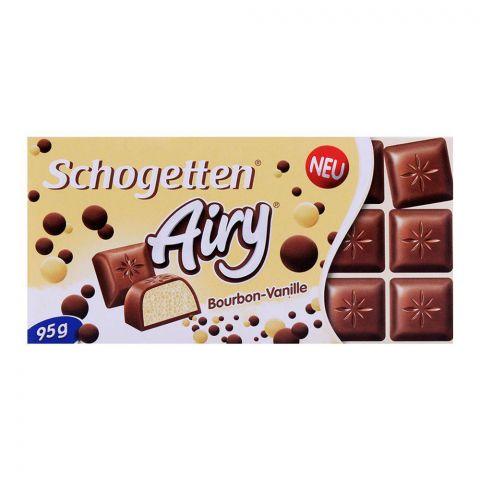Schogetten Airy Bourbon Vanilla Chocolate 95g