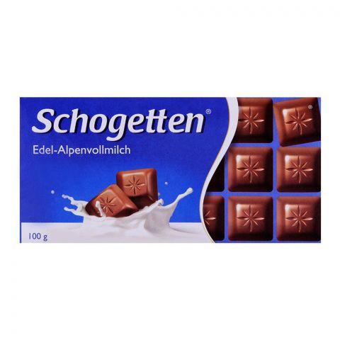 Schogetten Edel-Alpenvollmilch Milk Chocolate 100g
