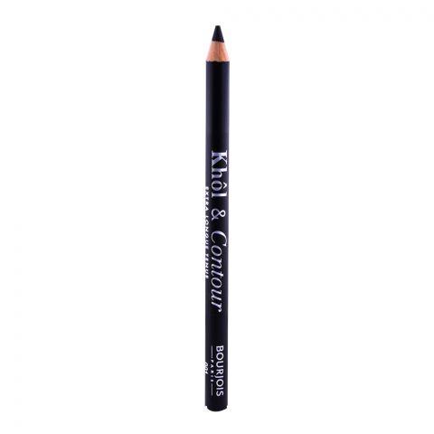 Bourjois Khol & Contour Eye Pencil, 001 Noir-Issime