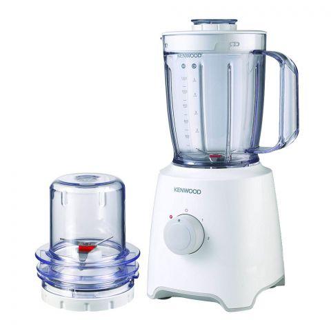 Kenwood Blend-X Compact Blender, 1.6 Litre, 450W, White, BLP302WH