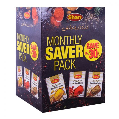 Shan Monthly Saver Pack