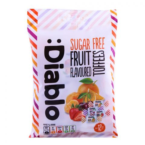 Diablo Sugar Free Fruit Flavored Sweets 75g