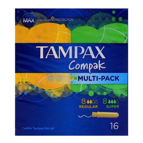Tampax Compak Multi-Pack 16-Pack