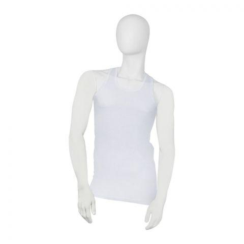 Lily Luxury Men's Vest Sando,  White