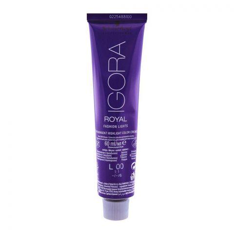 Schwarzkopf Igora Royal Fashion Light Hair Colour L-00 Natural Extra