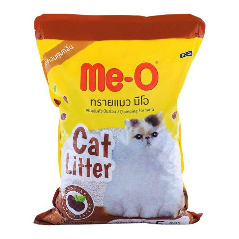 Me-O Cat Litter Coffee Scent 5 Liters
