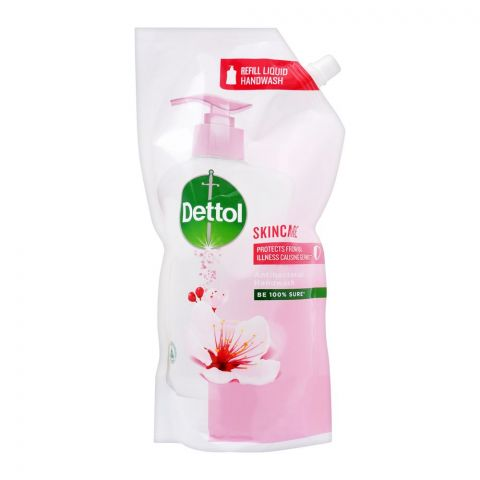 Dettol Skincare Antibacterial Liquid Hand Wash, Refill Pouch, 750ml
