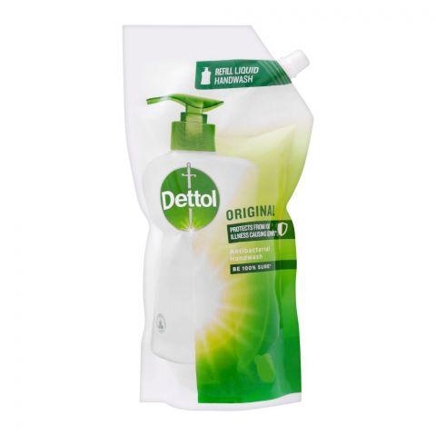 Dettol Original Antibacterial Liquid Hand Wash, Refill Pouch, 750ml