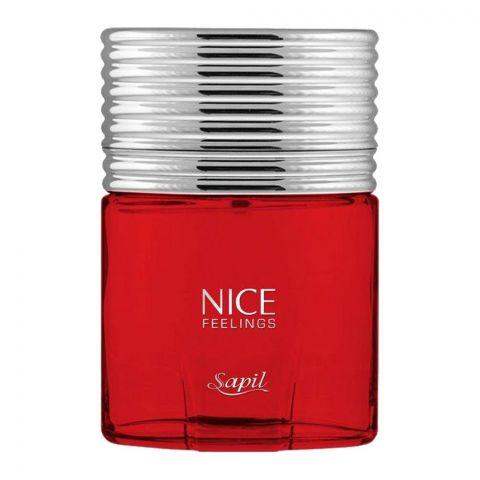 Sapil Nice Feelings Red For Men Eau De Toilette, 75ml