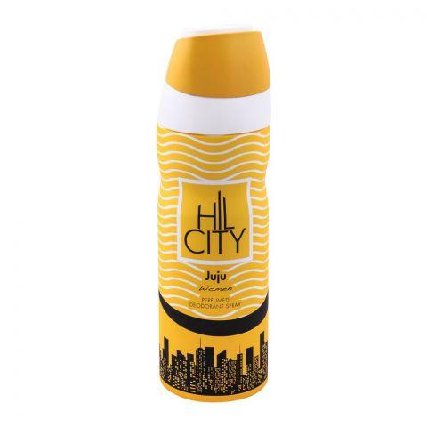 Hil City Juju Women Deodorant Body Spray, 200ml