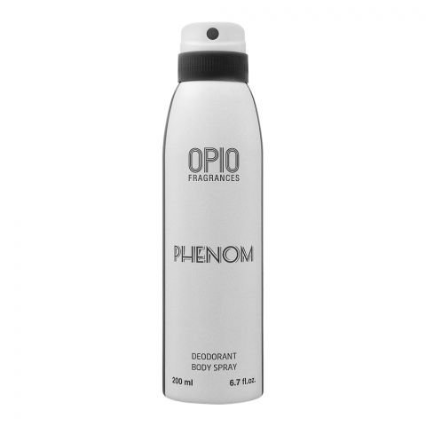 Opio Phenom Deodorant Body Spray, For Men, 200ml