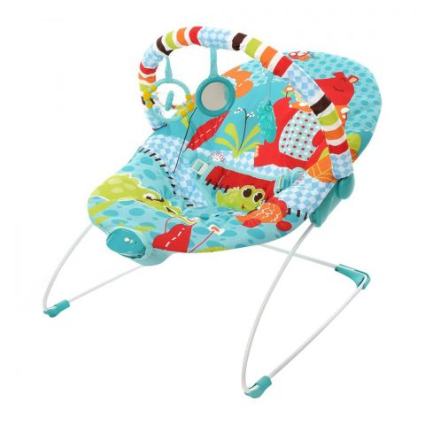 Mastela Soothing Cradling Vibrations Bouncer, Fish/Flower, 3-11 KG, 6750