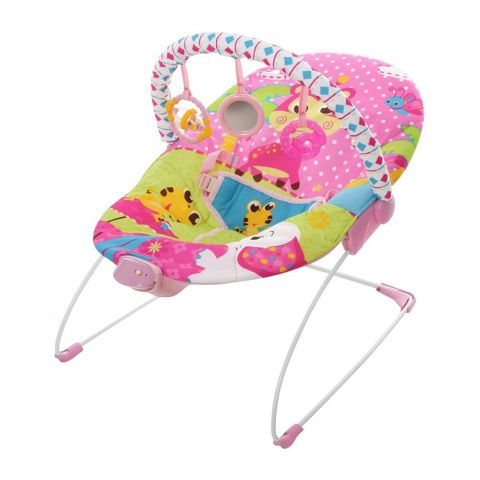 Mastela Soothing Cradling Vibrations Bouncer, Alligator/Elephant, 3-11 KG, 6790