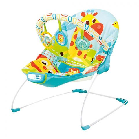 Mastela Soothing Cradling Vibrations Bouncer, Lion/Ants, 3-11 KG, 6875