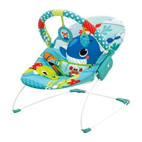 Mastela Soothing Cradling Vibrations Bouncer, Sea Horse/Tortoise, 3-11 KG, 6938
