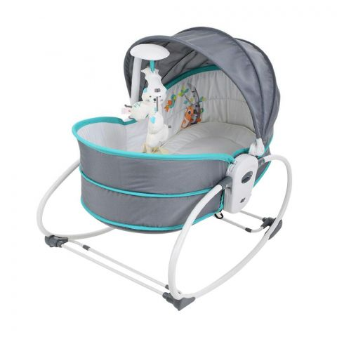Mastela 5-In-1 Baby Rocker & Bassinet, 6037