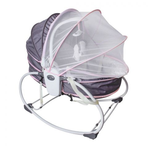 Mastela 5-In-1 Baby Rocker & Bassinet, 6038