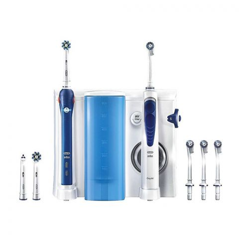 Braun Oral-B Oral Health Centre OXYjet Cleaning System Pro 3000 Toothbrush