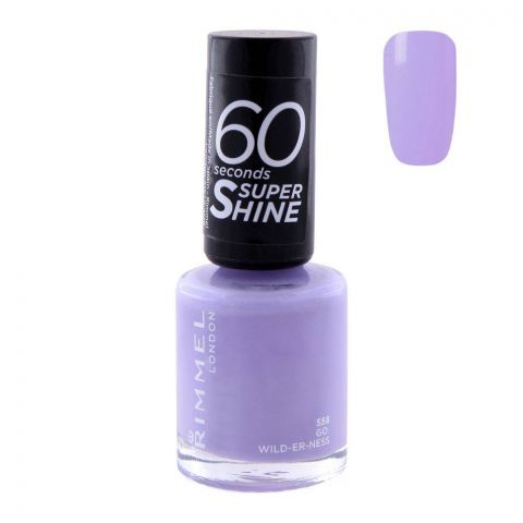 Rimmel 60 Second Nail Polish 558 Go Wild-Er-Ness