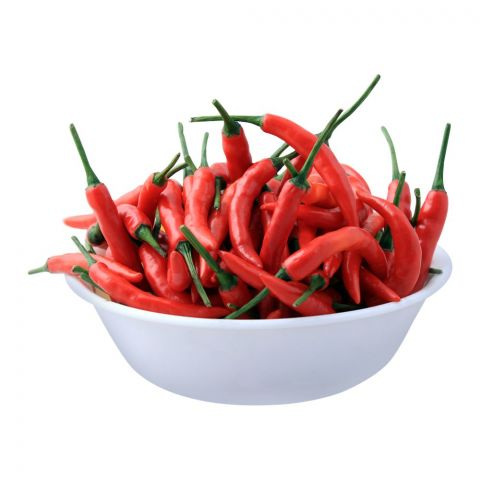 Fresh Basket Thai Red Chilli, Imported