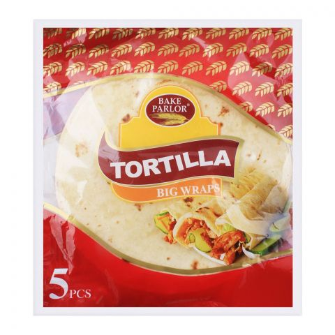Bake Parlour Tortilla Big Wraps, 5 Pieces