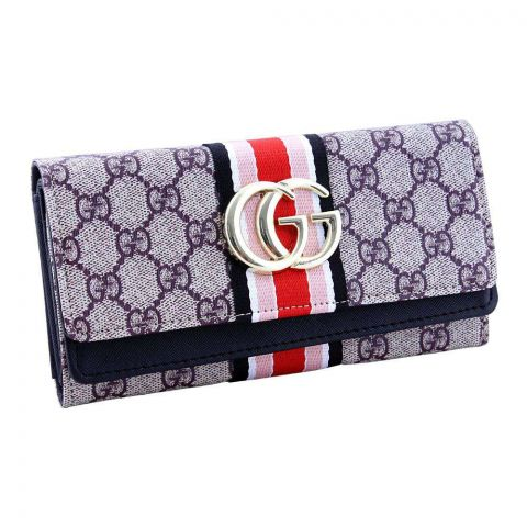 Women Hand Wallet Coffee, 2711