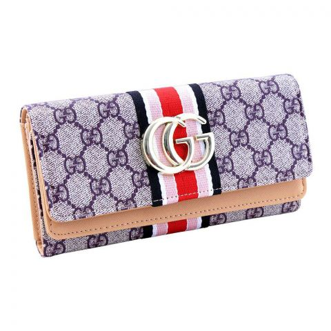 Women Hand Wallet Apricot, 2711
