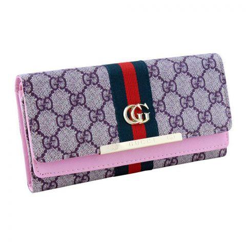 Women Hand Wallet Pink, W-10