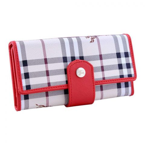 Women Hand Wallet Red, 2663