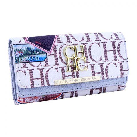 Women Hand Wallet Silver, 671