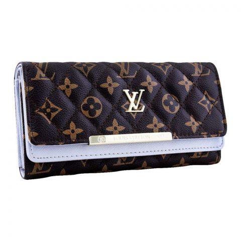 Women Hand Wallet Silver, 6668