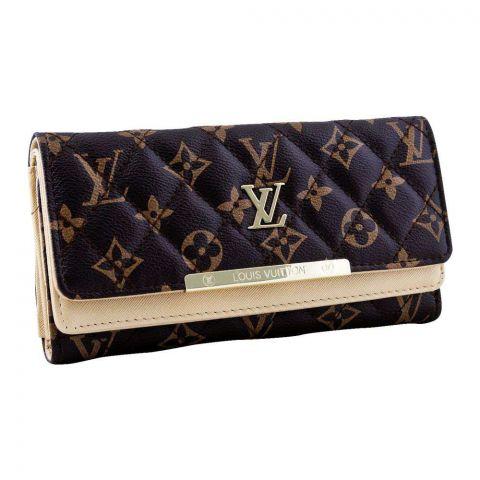 Women Hand Wallet Gold, 6668