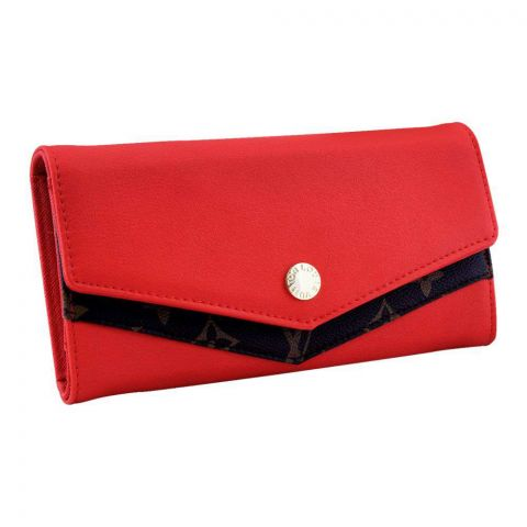 Women Hand Wallet Red, 702