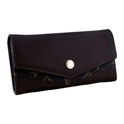 Women Hand Wallet Coffee, 702